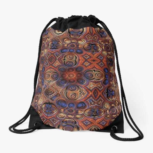Deep Dreamer Drawstring Bag