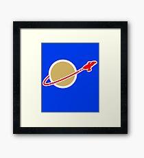 LEG0 SPACE SERENITY (FIREFLY) Framed Print