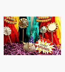 Birthday Piki! Photographic Print