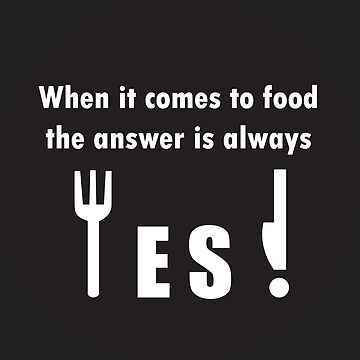 Yes to food by karuja