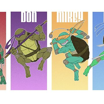 Turtles in a Half Shell by SuperDeano