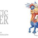Majestic dragon mug by moderndragon