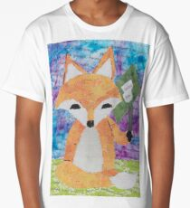 the quick red fox jumps over the lazy brown dog Long T-Shirt