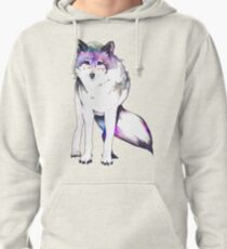 Galaxy Wolf Pullover Hoodie