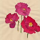 three poppies by luckylittle