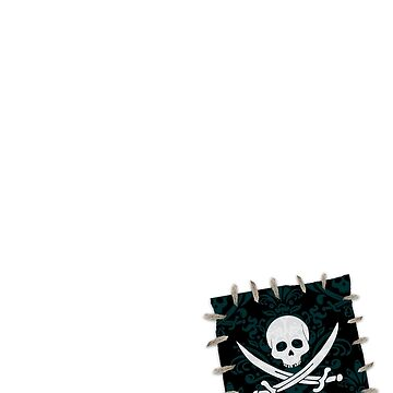 Pirate Fabric Patch by pirateslife