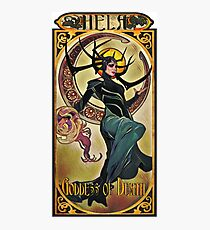 Hela Goddess of Death Photographic Print