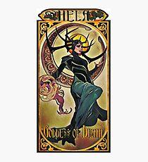 Hela Goddess of Death Photographic Print