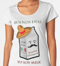 Yo Soy Milk Women's Premium T-Shirt