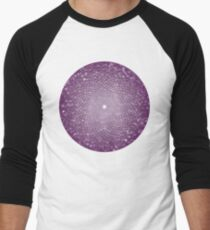 The Crown Chakra Men's Baseball ¾ T-Shirt
