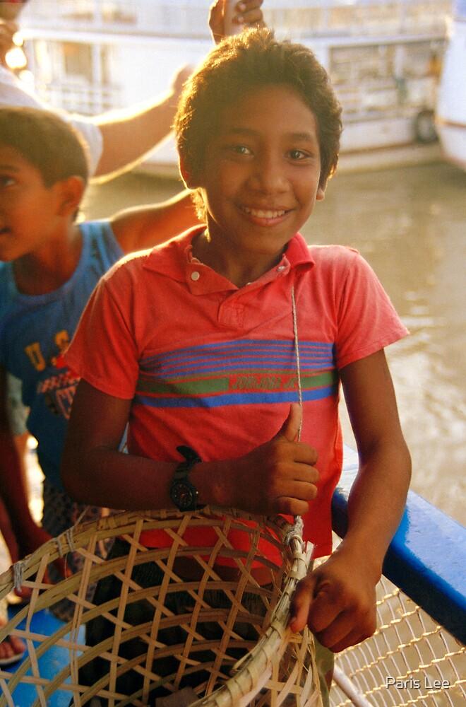 Boy, Mount Happiness, Amazon River, Brazil by Paris Lee