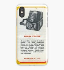"Old School Analogue Kodak Ensign ""Ful-Vue"" iPhone Case"