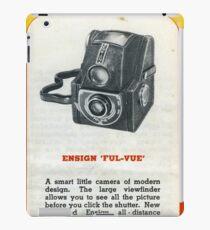 "Old School Analogue Kodak Ensign ""Ful-Vue"" iPad Case/Skin"
