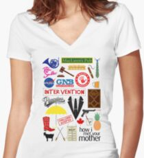 How I Met Your Mother Fitted V-Neck T-Shirt