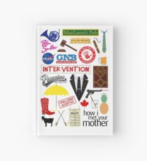 How I Met Your Mother Hardcover Journal