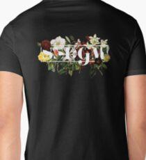 SSDGM Murderino Flower Illustration My Favorite Murder Men's V-Neck T-Shirt