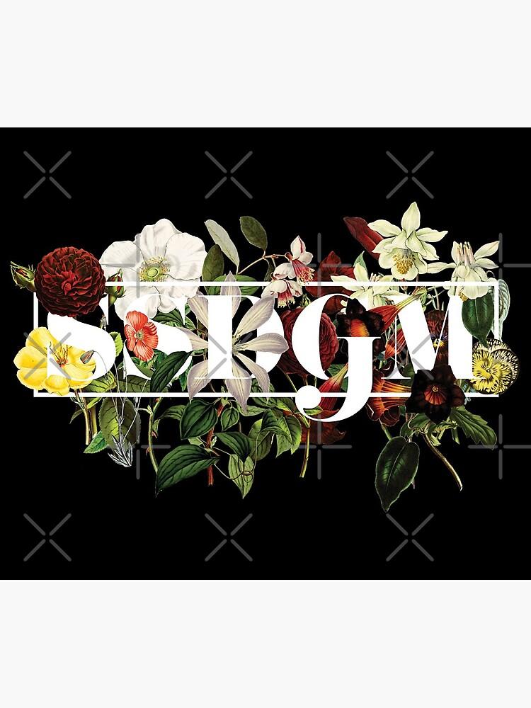 SSDGM Murderino Flower Illustration My Favorite Murder by adriennesimmons