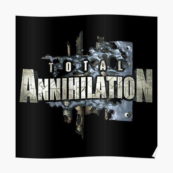 Total Annihilation Logo Poster