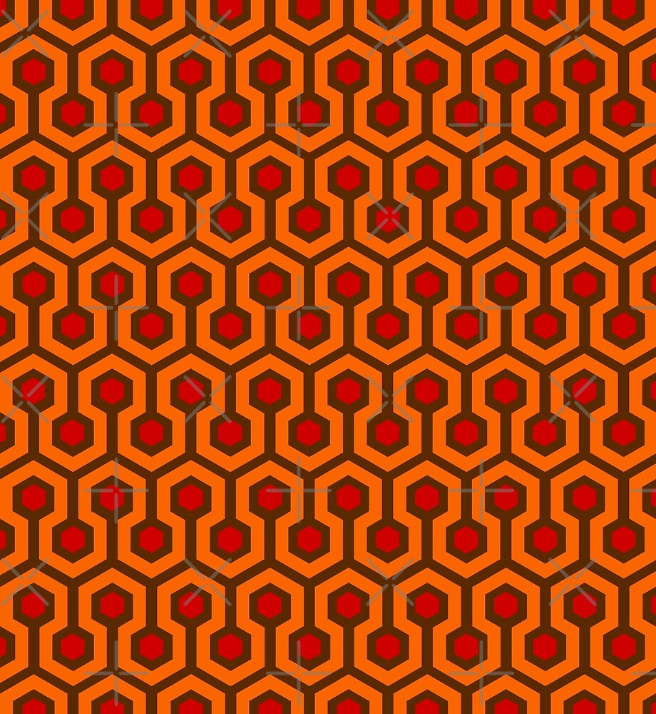 Horror Hotel Carpet by eclecticreds
