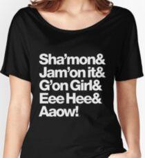 Michael Jackson Lyrics - Eee Hee! Women's Relaxed Fit T-Shirt