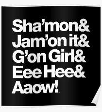 Michael Jackson Lyrics - Eee Hee! Poster