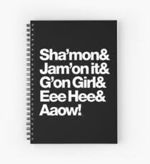 Michael Jackson Lyrics - Eee Hee! Spiral Notebook