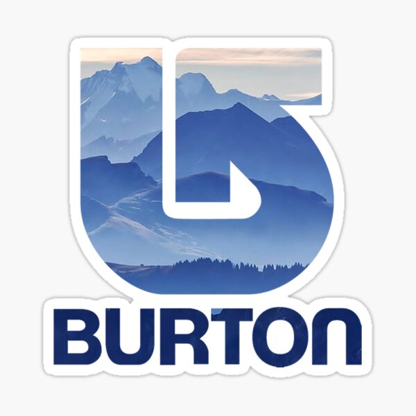Burton Snowboards Purple Mountain Pegatina