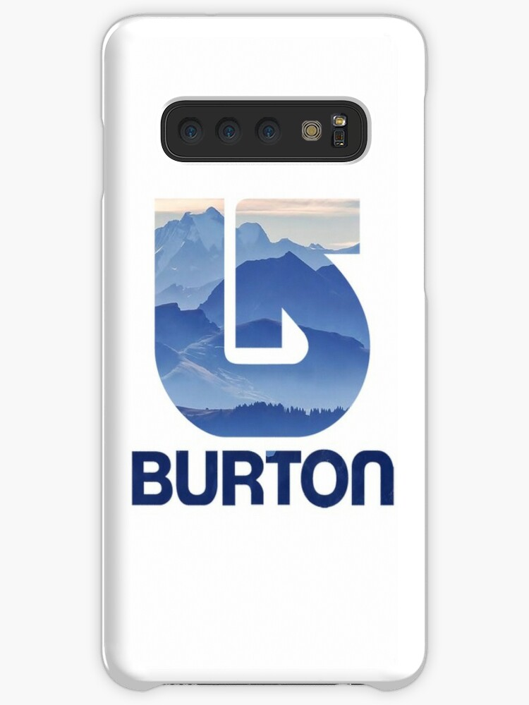 burton logo galaxy iphone case