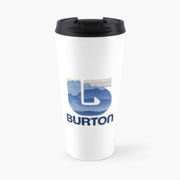 Burton Snowboards Purple Mountain Travel Mug