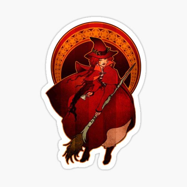 Red Witch - Bruja Roja Sticker