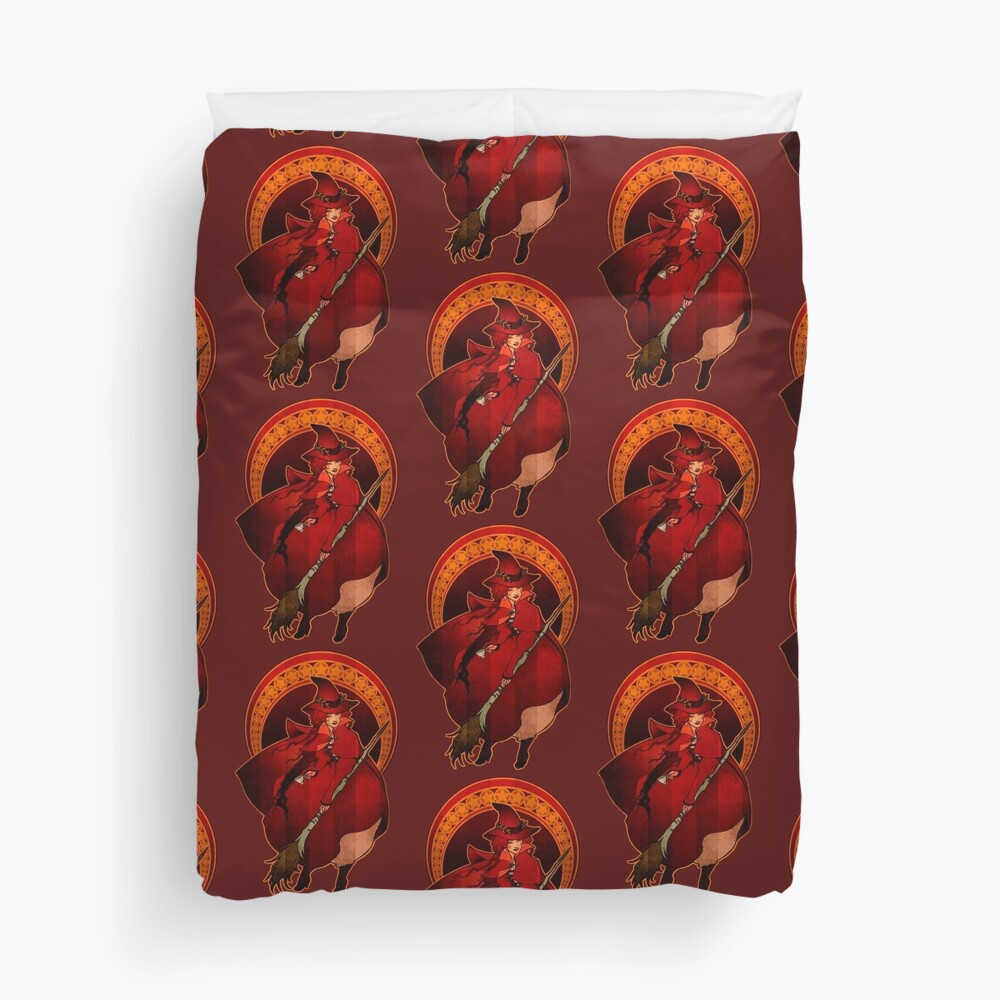 Red Witch - Bruja Roja Duvet Cover
