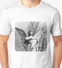 Angel Looking Skyward  Unisex T-Shirt