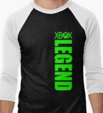 Xbox Legend - Green Men's Baseball ¾ T-Shirt