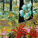 'Ironbark and Wildflowers' by Lozzar Flowers & Art
