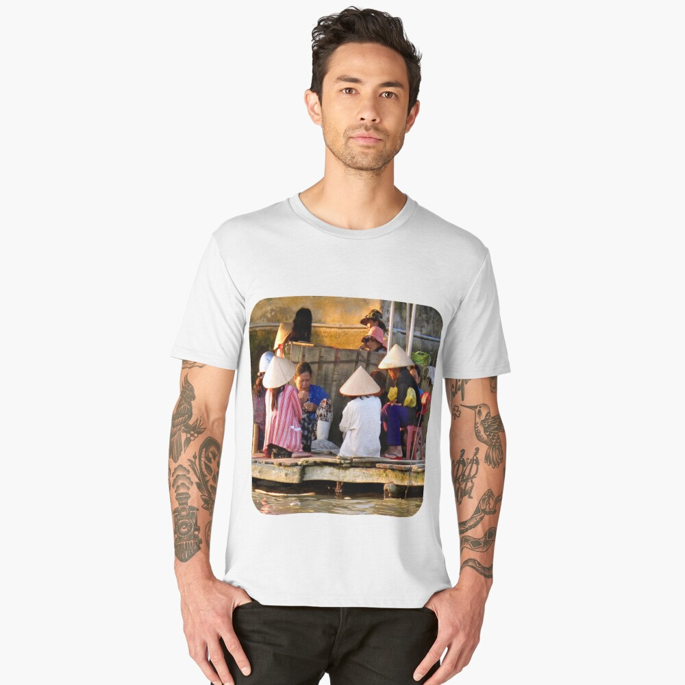 The Card Game  Men's Premium T-Shirt Front