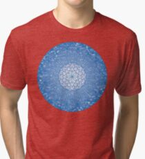 The Throat Chakra Tri-blend T-Shirt