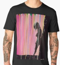 Psychedelic Lonely Girl Men's Premium T-Shirt