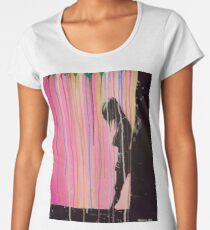 Psychedelic Lonely Girl Women's Premium T-Shirt