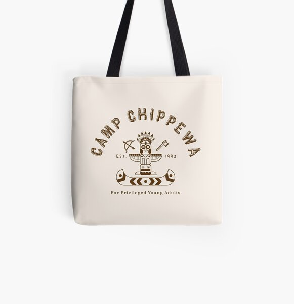 Camp Chippewa All Over Print Tote Bag