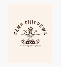 Camp Chippewa Photographic Print
