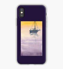 Sunrise sailboat in the Maritimes iPhone Case