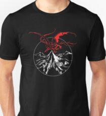 Runestone Lonely Mountain and Smaug T-Shirt