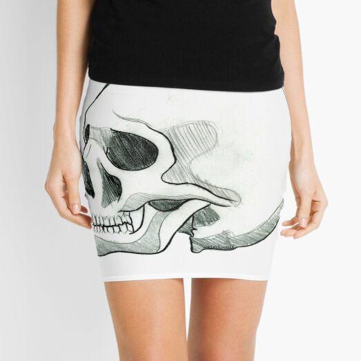 Skull Study Mini Skirt