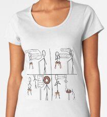 Can't get my head around it Women's Premium T-Shirt