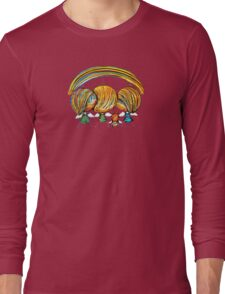 A Rainbow of Angels TShirt Long Sleeve T-Shirt