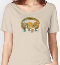 A Rainbow of Angels TShirt Women's Relaxed Fit T-Shirt