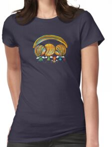 A Rainbow of Angels TShirt Womens Fitted T-Shirt
