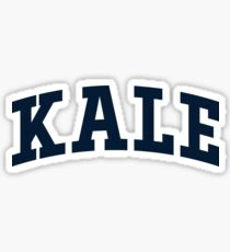 Kale - University Font Sticker