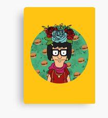 Tina Kahlo Canvas Print