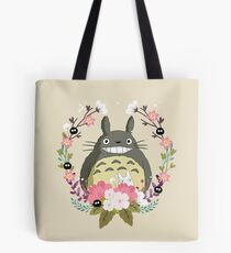 Totoro and the Spring Tote Bag